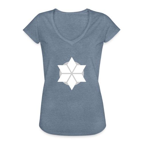 Morgonstjärnan - Vintage-T-shirt dam