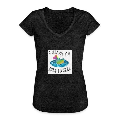 image - T-shirt vintage Femme