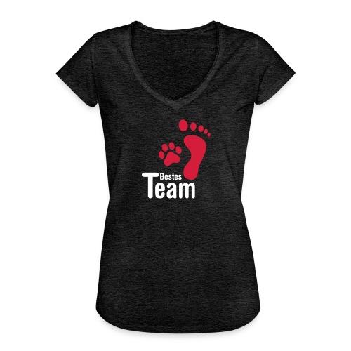 Vorschau: Bestes TEAM - Frauen Vintage T-Shirt