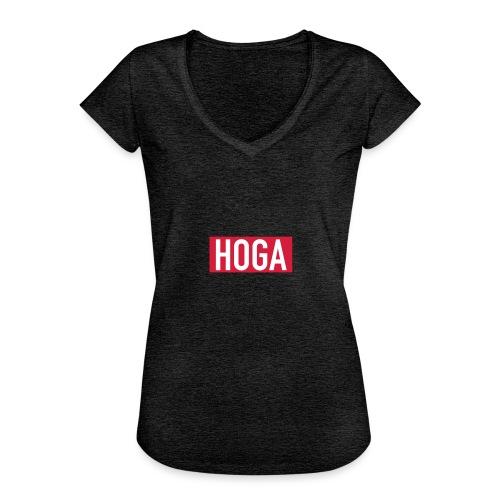 HOGAREDBOX - Vintage-T-skjorte for kvinner