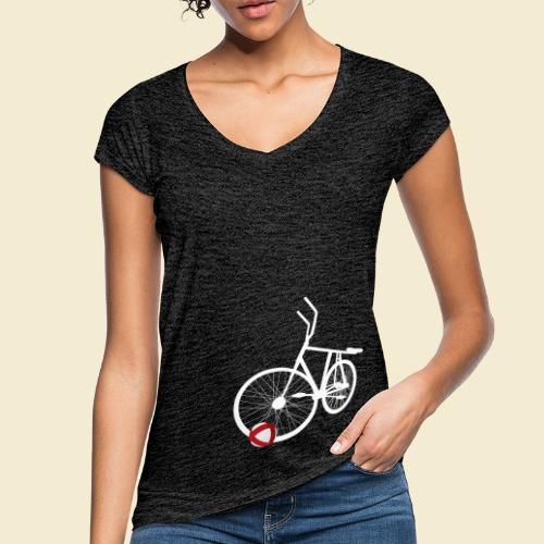 Radball | White - Frauen Vintage T-Shirt