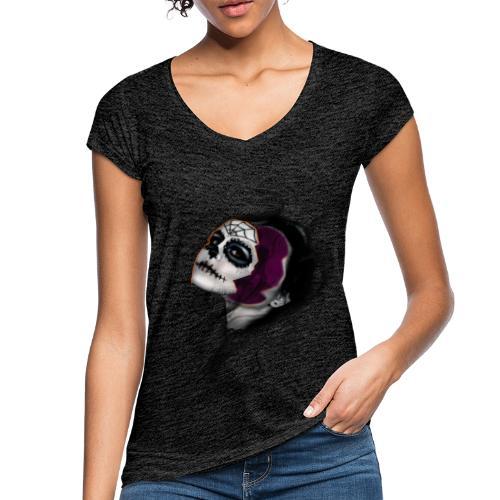 catrina - Camiseta vintage mujer