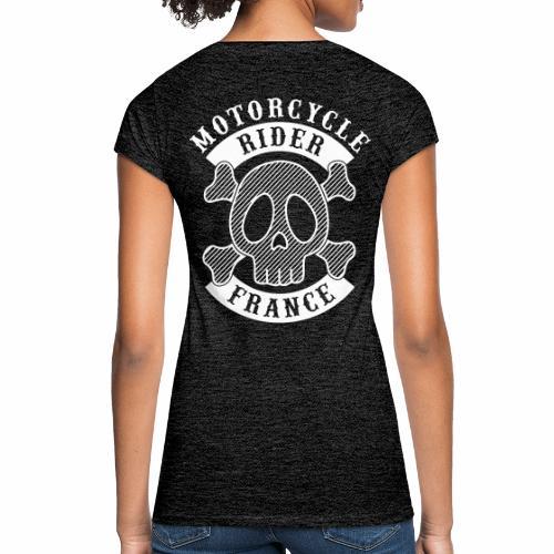 Motorcycle Rider France - T-shirt vintage Femme