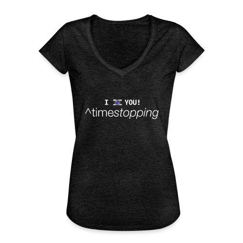 I (photo) you! - Women's Vintage T-Shirt