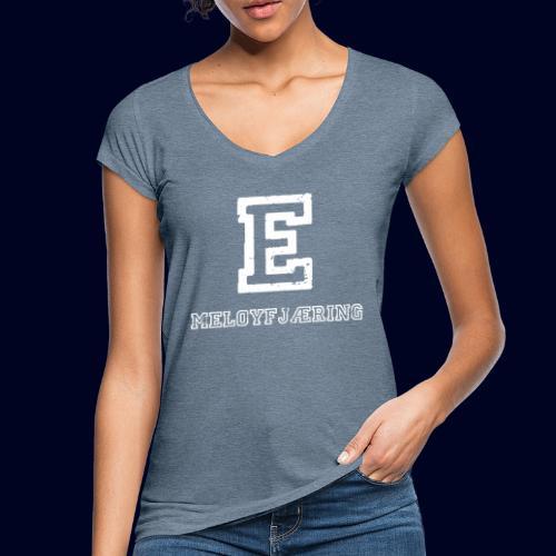 E - Meløyfjæring - Vintage-T-skjorte for kvinner