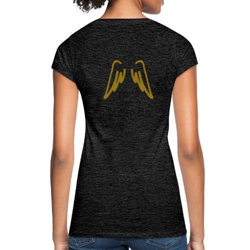 yoga vleugels - Vrouwen Vintage T-shirt