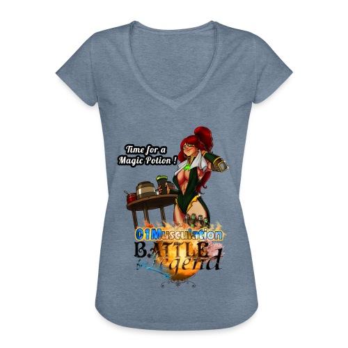Mythrilisatrice- Battle for Legend X 01Musculation - T-shirt vintage Femme