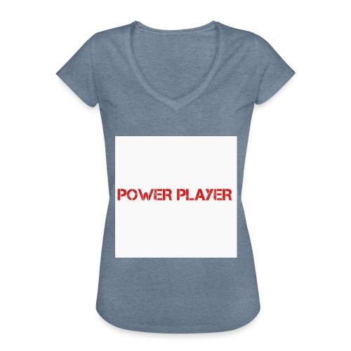 Linea power player - Maglietta vintage donna