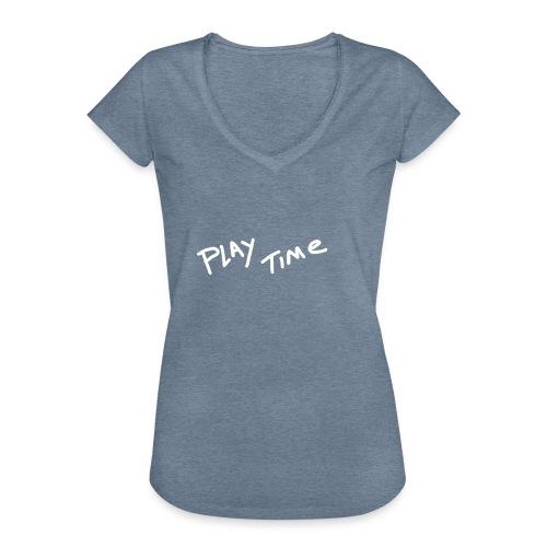 Play Time Tshirt - Women's Vintage T-Shirt