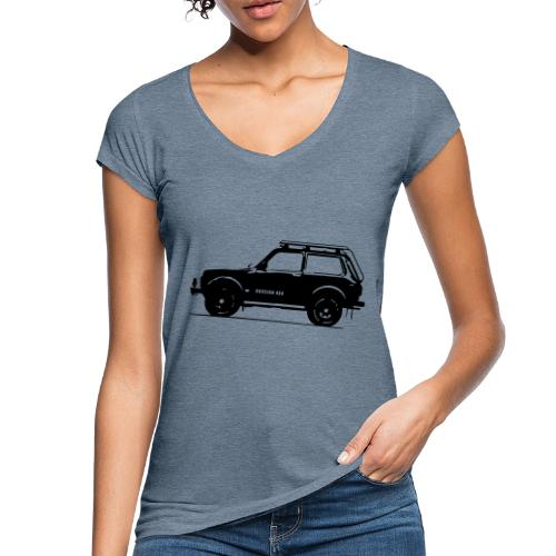Lada Niva 2121 Russin 4x4 - Frauen Vintage T-Shirt