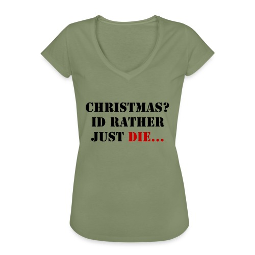 Christmas joy - Women's Vintage T-Shirt