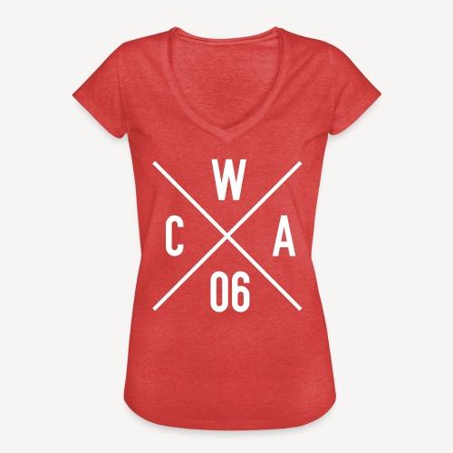 CATHOLICS WITH ATTITUDE (EST 2006) - Women's Vintage T-Shirt