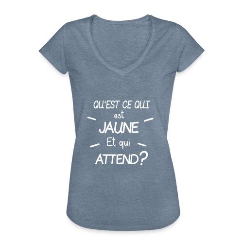 Edition Limitee Jonathan Black - T-shirt vintage Femme