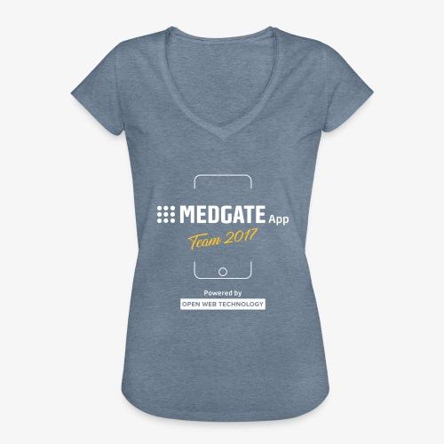 Medgate App Team 2017 Dark - Frauen Vintage T-Shirt