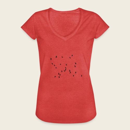 Flying birds - Dame vintage T-shirt