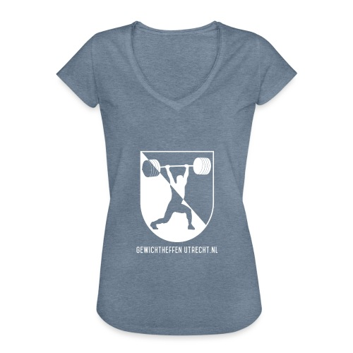 Modern Logo - Vrouwen Vintage T-shirt
