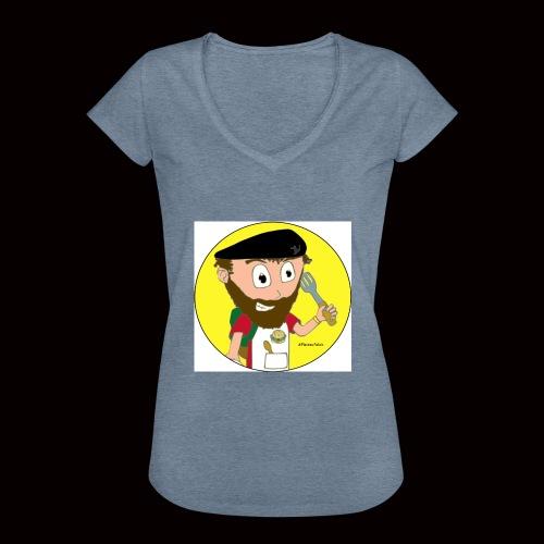 r svg - T-shirt vintage Femme