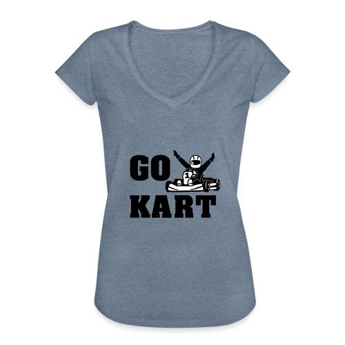 Go kart - T-shirt vintage Femme