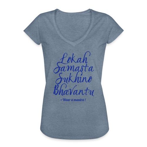 LOKAH SAMASTA - Maglietta vintage donna