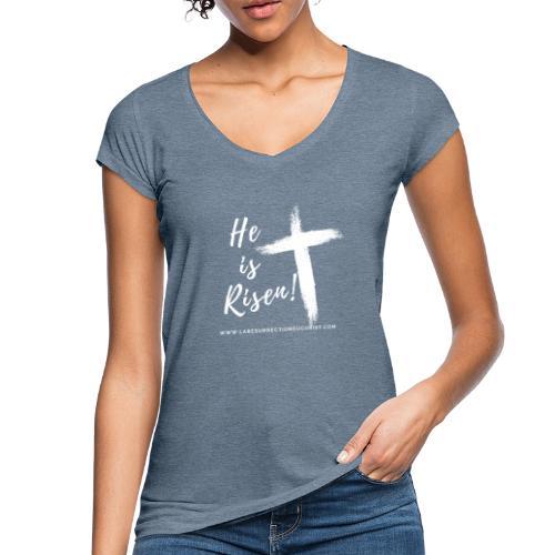 He is Risen ! V2 (Il est ressuscité !) - T-shirt vintage Femme