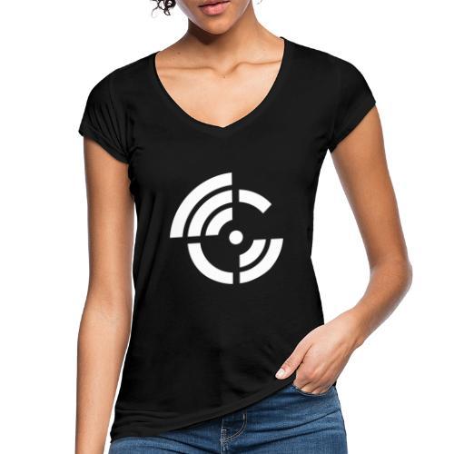 electroradio.fm logo - Women's Vintage T-Shirt