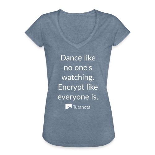 Tutanota dance - Frauen Vintage T-Shirt