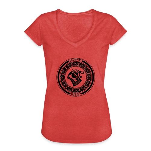 BjornfellRisingBlack - Naisten vintage t-paita