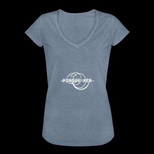 Pinque AEM Bianco - Maglietta vintage donna