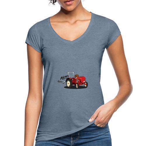 Brunhilde pött pött - Frauen Vintage T-Shirt