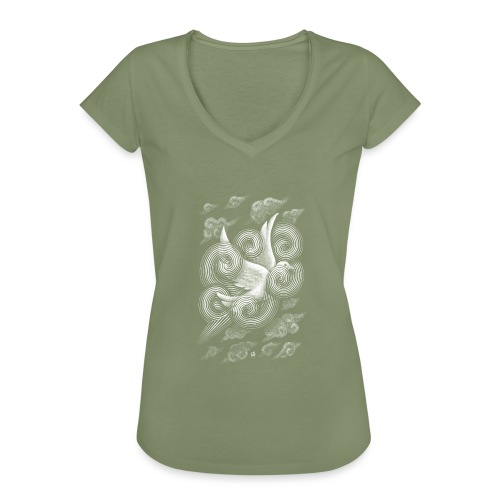 Crossing Clouds - Women's Vintage T-Shirt