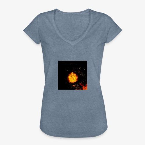 FIRE BEAST - Vrouwen Vintage T-shirt