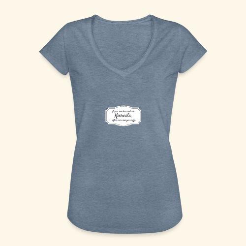 Verdens sødeste kæreste - Dame vintage T-shirt