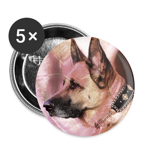 DOGLuxury Love Valentine - Buttons groß 56 mm (5er Pack)