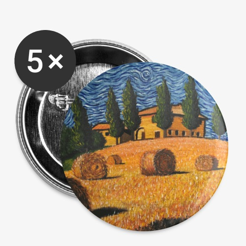 tuscany - Buttons large 2.2''/56 mm (5-pack)