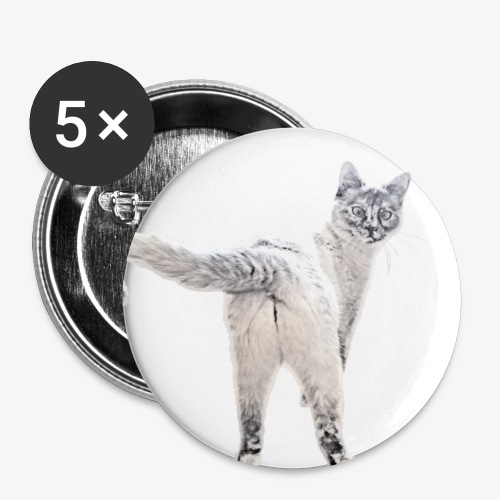snow1 - Buttons large 2.2''/56 mm(5-pack)