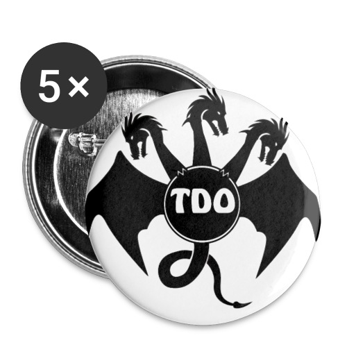 TDO redesign high res 5 transparent png - Buttons large 2.2''/56 mm(5-pack)