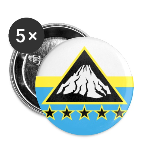 Etna Badge png - Buttons large 2.2''/56 mm (5-pack)