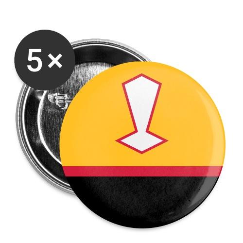 horizon-citudoroy-trouox- - Lot de 5 grands badges (56 mm)