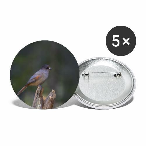 Lavskrikan - Stora knappar 56 mm (5-pack)