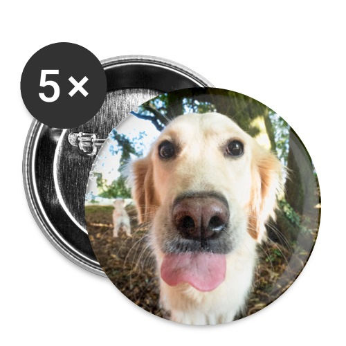 Lissy - Buttons groß 56 mm (5er Pack)