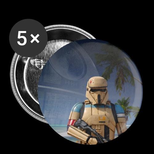 Eve Trooper - Buttons groß 56 mm (5er Pack)