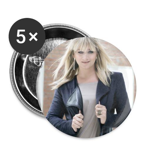 Stephanie - Buttons groß 56 mm (5er Pack)