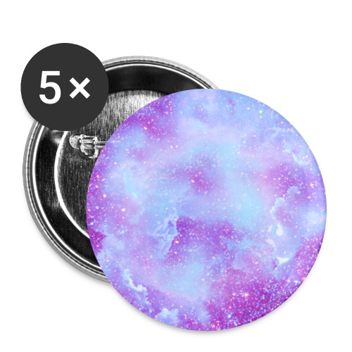 Fairy tale elves dust fairies glitter clouds - Buttons large 2.2''/56 mm(5-pack)