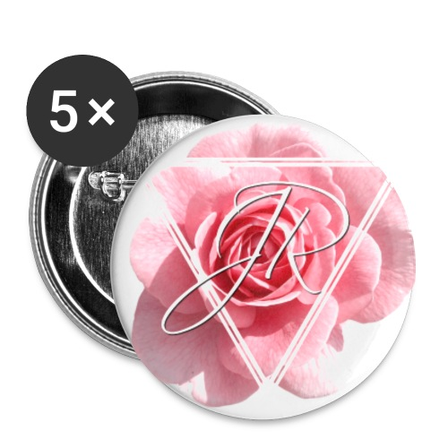 Rose Logo - Buttons large 2.2''/56 mm (5-pack)