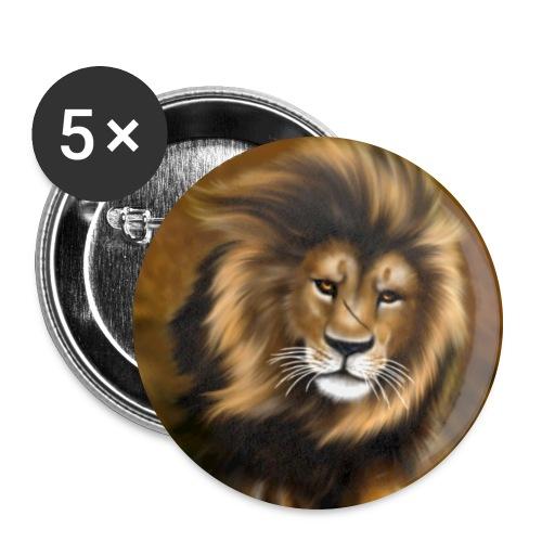 Il vento della savana - Confezione da 5 spille grandi (56 mm)