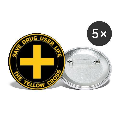 Badge - Przypinka duża 56 mm (pakiet 5 szt.)
