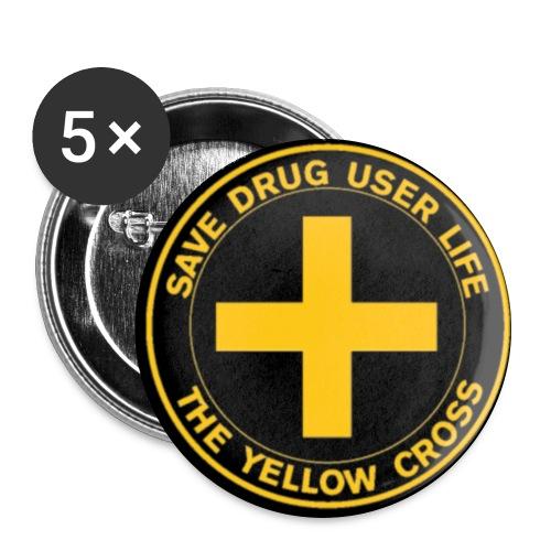 Badge - Lot de 5 grands badges (56 mm)