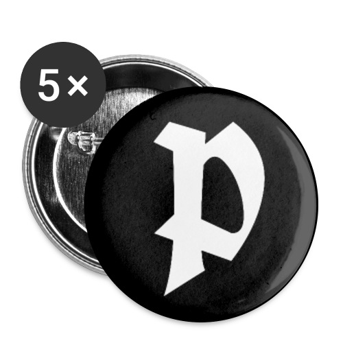 Button P - APPD - Buttons groß 56 mm (5er Pack)