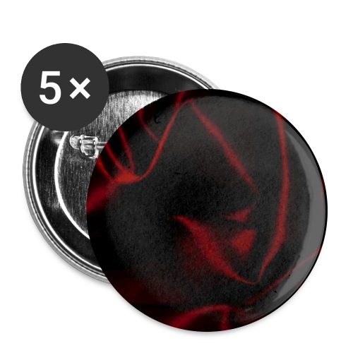 Silk Satin Red Burlesque Romance Shine Gift - Buttons large 2.2''/56 mm(5-pack)