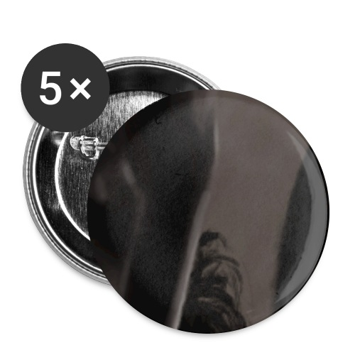 Heavy - Buttons groß 56 mm (5er Pack)